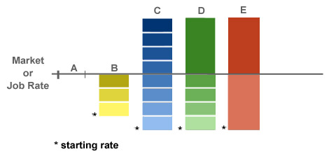 Figure 13-1. Alternative types of rate ranges